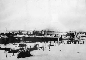 Il lager 1/b di Hoenstein, in Masuria, la prima tappa della sua prigionia.