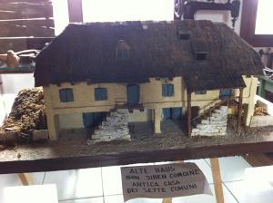 Un'antica casa dei Sette Comuni