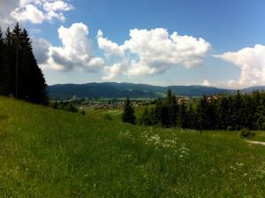 Asiago vista da località Sant'Antonio - Valgiardini