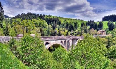 Il ponte di Roana (foto: Roberto Costa Ebech