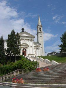 La chiesa parrocchiale di Enego