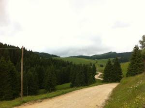 La strada per Dosso - Manazzo - Val Formica