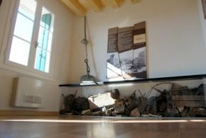 Il museo di Foza, sezione dedicata alla Grande Guerra