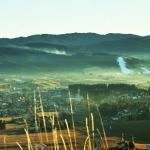 Asiago vista dalla croce del monte Katz ai giorni nostri (foto: Claudio Rigon)