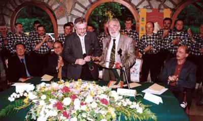 Mario Rigoni Stern con il Coro Asiago