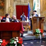 Il conferimento della laurea honoris causa, nel 2007 all'Università di Genova.