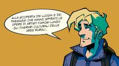 Un'immagine del fumetto