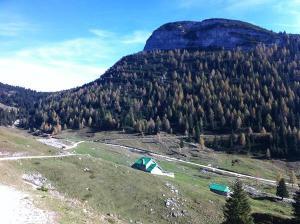 La valle di Galmarara e il monte Zingarella.