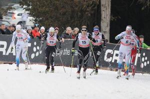 Gara di sci nordico ad Asiago (foto: Roberto Costa Ebech).